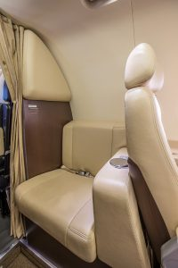 Phenom 100 Side Facing Seat