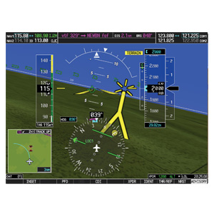 Garmin Synthetic Vision - Garmin SVT